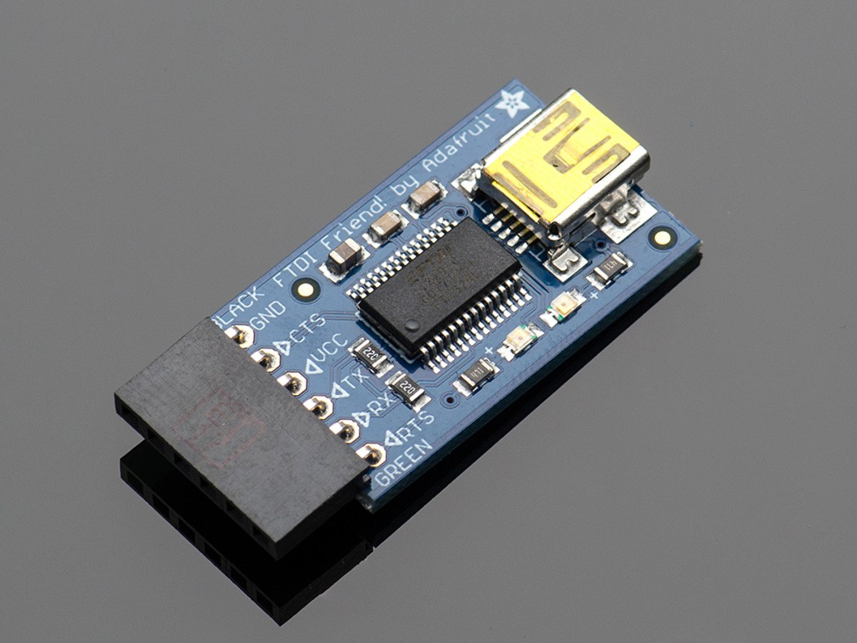 Adafruit FTDI Friend + extras [v1.0]