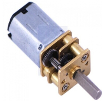 [Pololu] Micro Metal Gearmotor (Key specs at 6 V: 85 RPM and 40 mA free-run, 17 oz-in (1.2 kg-cm) and 0.36 A stall)