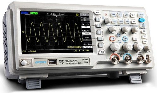 DIGITAL OSCILLOSCOPE GA1102CAL (ADS1102CAL 대체)