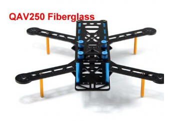 쿼드콥터본체 QAV250 Fiberglass 4-Axis FPV Quadcopter Frame Kit