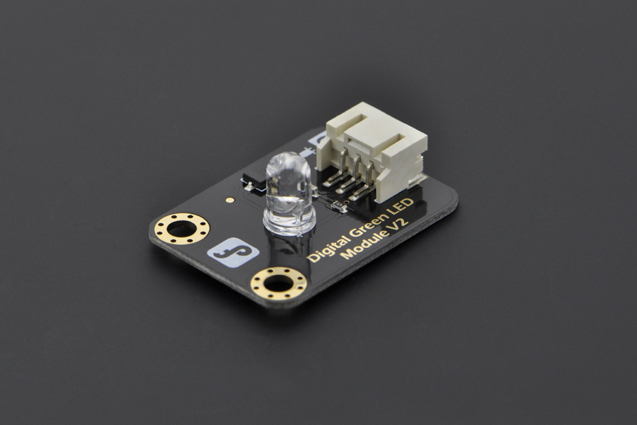 DFROBOT Gravity: Digital Green LED Light Module [DFR0021-G] ( 디지털 제어 LED 모듈 )