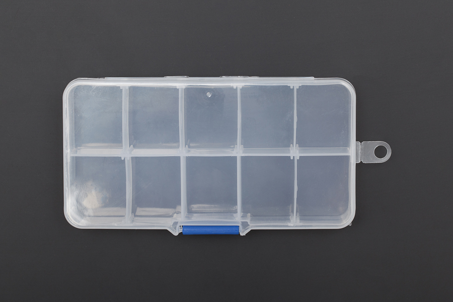 DFROBOT Adjustable Compartment Parts Box - 10 compartments [FIT0204]
